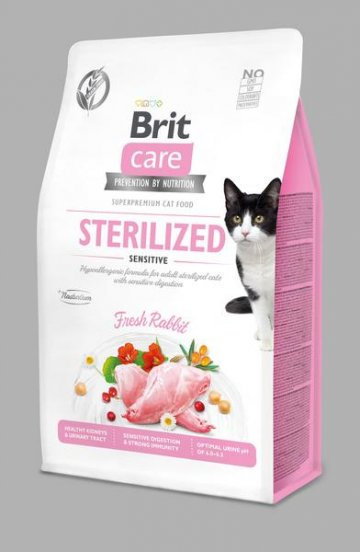 Brit Care Cat Grain-Free Sterilized Sensitive 0,4kg